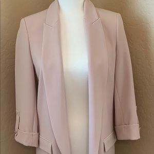 Zara Blush Pink Classic Blazer